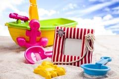 Fun on the beach Royalty Free Stock Image