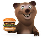 Fun bear Stock Photos