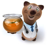 Fun bear Stock Image