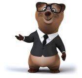 Fun bear Stock Image