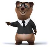 Fun bear Stock Photography