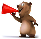 Fun bear Stock Images