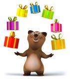 Fun bear. 3d generated illustration Stock Photo
