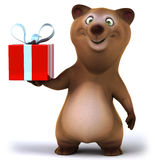 Fun bear Royalty Free Stock Photography