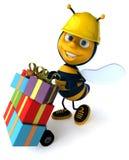 Fun bee Royalty Free Stock Photos