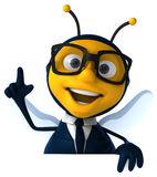 Fun bee Royalty Free Stock Images