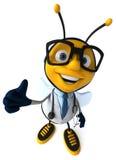 Fun bee vector illustration