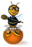 Fun bee Stock Photos
