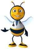 Fun bee Royalty Free Stock Photo