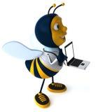 Fun bee Royalty Free Stock Photography