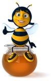 Fun bee Stock Photography