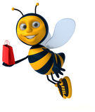 Fun bee Stock Image
