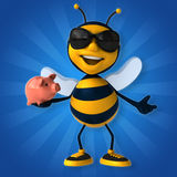 Fun bee Royalty Free Stock Photography