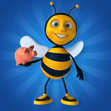 Fun bee Stock Photography