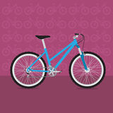 Fun bicycle Royalty Free Stock Photos