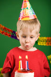 Fun on birthday Stock Images