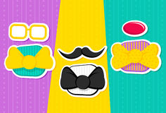 Fun Bow Ties Royalty Free Stock Photography