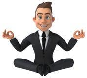 Fun business man Stock Images
