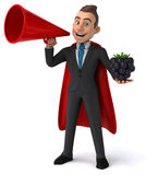 Fun business man Royalty Free Stock Images