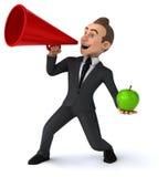 Fun businessman Stock Photos