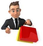 Fun businessman Royalty Free Stock Photography