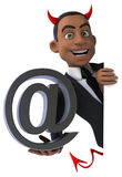 Fun businessman Royalty Free Stock Images