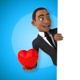 Fun businessman Stock Image