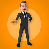 Fun businessman Royalty Free Stock Photography