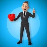 Fun businessman Stock Images