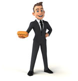 Fun businessman Stock Photos