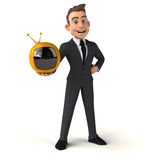 Fun businessman Royalty Free Stock Photos