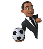 Fun businessman Royalty Free Stock Image