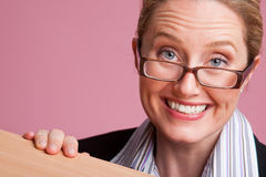 Fun businesswoman Royalty Free Stock Photography