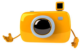 Fun camera Royalty Free Stock Images