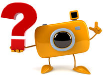 Fun camera Royalty Free Stock Photography