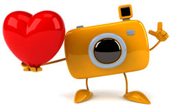 Fun camera Stock Image