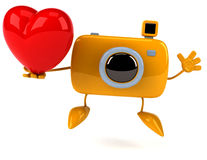 Fun camera Royalty Free Stock Photos