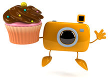 Fun camera Royalty Free Stock Image