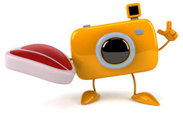 Fun camera Royalty Free Stock Photos