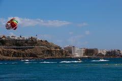 Fun in Canary Island, Spain Royalty Free Stock Photo