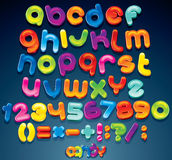 Fun Candy Font Stock Image