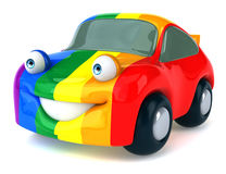 Fun car Royalty Free Stock Photography