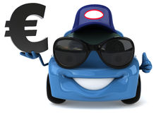 Fun car stock illustration