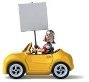 Fun car Stock Image