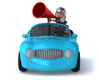 Fun car Royalty Free Stock Image
