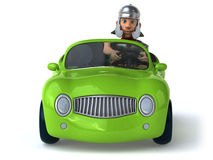 Fun car Royalty Free Stock Images