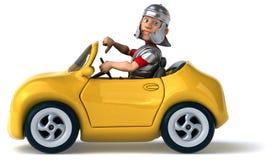 Fun car Royalty Free Stock Image