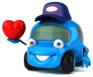 Fun car - 3D Illustration Royalty Free Stock Photo