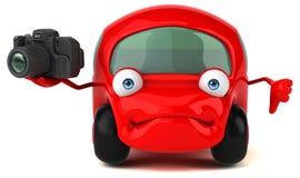 Fun car - 3D Illustration Stock Image
