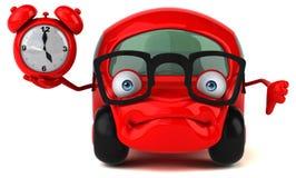 Fun car - 3D Illustration Royalty Free Stock Photos